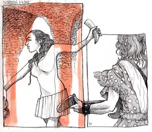 Dibujo Madrid - Oxímoron