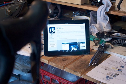iPad on the Workbench