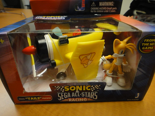 Sonic & SEGA All-Stars Racing Tails & Plane