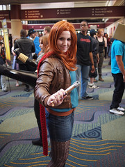 Amy Pond! (Fernando Lenis) Tags: pen orlando pond amy photos cosplay who olympus doctor fernando fl megacon cosplayers 2011 lenis epl1