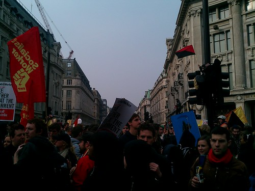 Oxford Circus protest