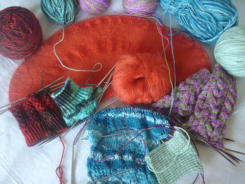knitting 361