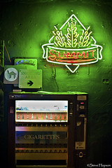 Cigarette Machine, Cheer-up Charlies (Steve Hopson) Tags: music usa beer bar austin neon texas lounge gig camel sxsw summit cigarettes divebar beersign smokingarea cigarettemachine camelcigarettes summitbeer divebartour neontexas cheerupcharlies sxsw2011 southbysouthwest2011