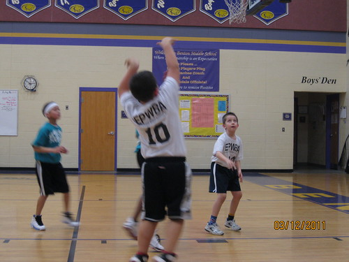 Mar 2011: Jonathon looks for a rebound.