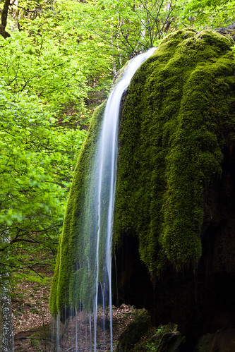 'Silver streams' waterfall