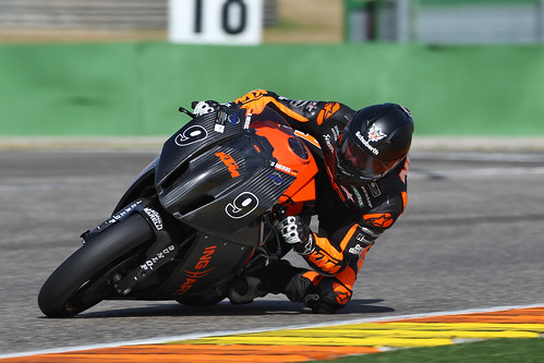 Stefan Nebel in Valencia with SR1