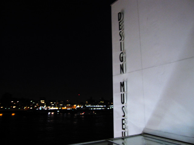design musuem at night