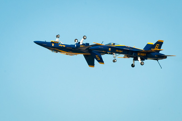 Blue Angels - Gear Up or Gear Down?