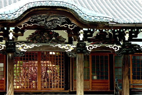 瑞輪寺の八重桜 II