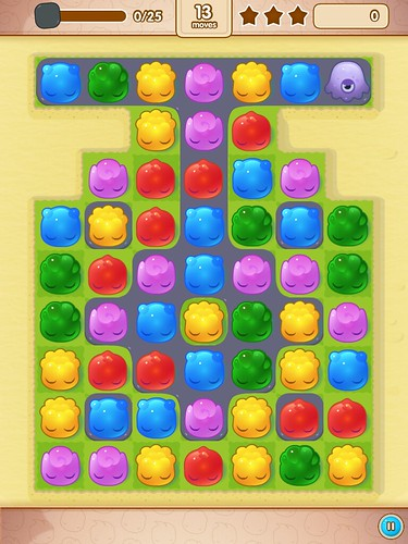 Jelly Splash Gameplay: screenshots, UI