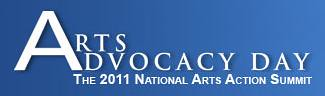 Americans for the Arts Arts Advocacy Day 2011 Logo