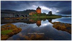 Twilight castle (Dylan Toh) Tags: lake reflection castle landscape photography scotland highlands dee eilean donan eileandonancastle everlook