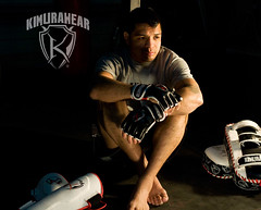 Kimurawear Athlete Leonard Bad Boy Garcia (Kimurawear) Tags: ufc badboy kimura mma wec traininggear fightgear leonardgarcia kimurawear