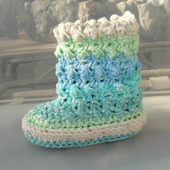 Crochet Pattern Baby Rain Boots : The Worlds Best Photos of crochet and rain - Flickr Hive Mind