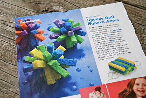 Kids Sponge Ball