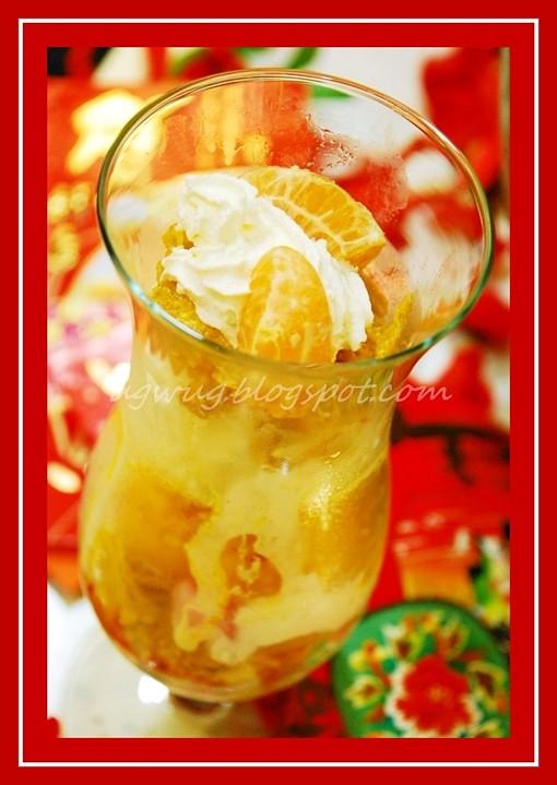 Tangerines & Cream Sundae