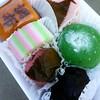 Manju from Mikawaya (ericnakamura) Tags: square japanese squareformat sweets mochi manju iphoneography instagramapp uploaded:by=instagram