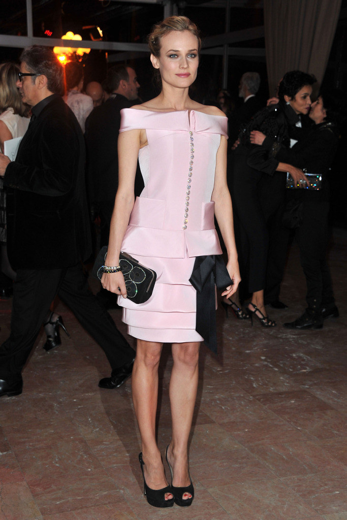 Diane Kruger in Chanel in Paris