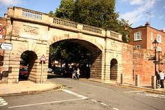 Chester, Bridgegate (Clanger's England) Tags: bridge england cheshire chester archway geo et ebb ebi gradeilistedbuilding lbs470315