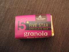 Lake Champlain Five Star Granola Chocolate Bar