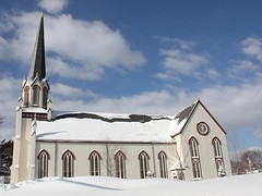 A Winter Scene (donsutherland1) Tags: winter ny newyork church nature snowstorm january mamaroneck topshots abigfave flickraward theunforgettablepictures mygearandme flickrsportal