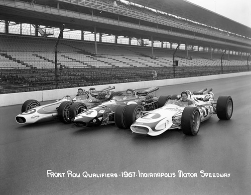 Front Row of the 1967 Indianapolis 500