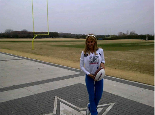 At Super Bowl XLV Is Inés Sainz Dating Chad Johnson?