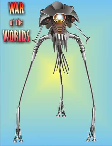 war of the worlds alien 1953. War Of The Worlds Tripod from