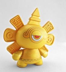 Golden Calendario Azteca Dunny AP BACK (TheBeastBrothers) Tags: gold golden kidrobot thebeastbrothers dunnyazteca2
