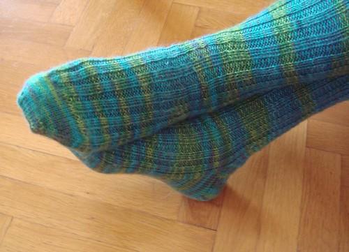 Blue - Green Socks