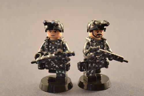 Custom minifig Urban Soldiers custom lego minifigures