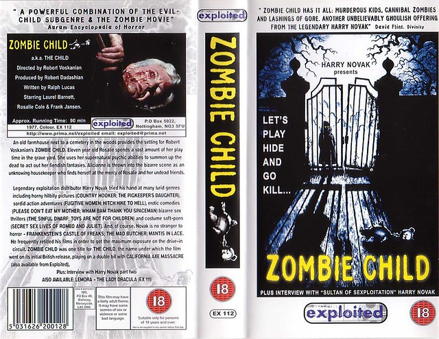 Zombie Child (VHS Box Art)