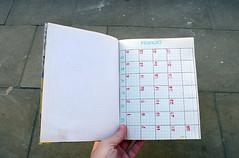 Agenda 2011 (teconleche) Tags: handmade diary agenda 2011 manualidad