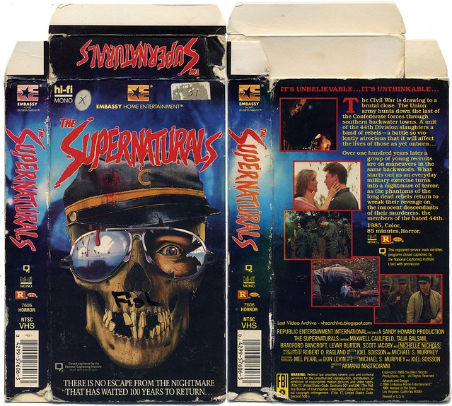 Supernaturals (VHS Box Art)