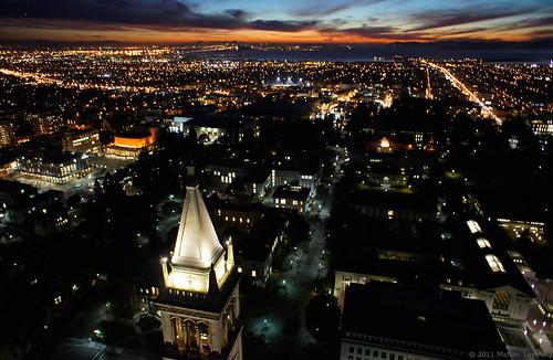 Sunset at the University of California, Berkeley