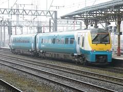 175004 Crewe 220111 (Dan86401) Tags: 175004 class 175 1750 alstom coradia coradia1000 dmu dieselmultipleunit atw arrivatrainswales crewe class175