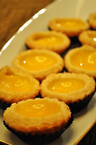 tray of tarts