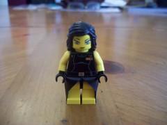 Lego Tifa Lockhart (Soltrigger) Tags: anime movie children advent lego 7 final fantasy fist minifig custom vii lockhart tifa