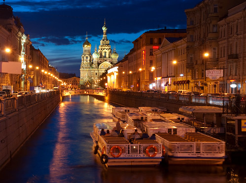 St Petersburg at dusk 10