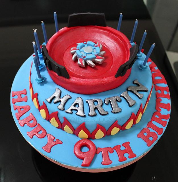Beyblade Birthday Cake Photos
