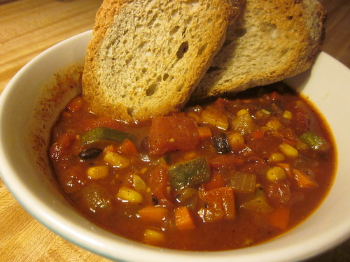AFR Black Bean Chili
