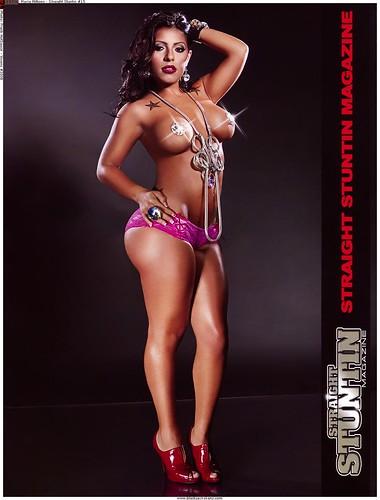 Maria Millions Straight Stuntin magazine pictures