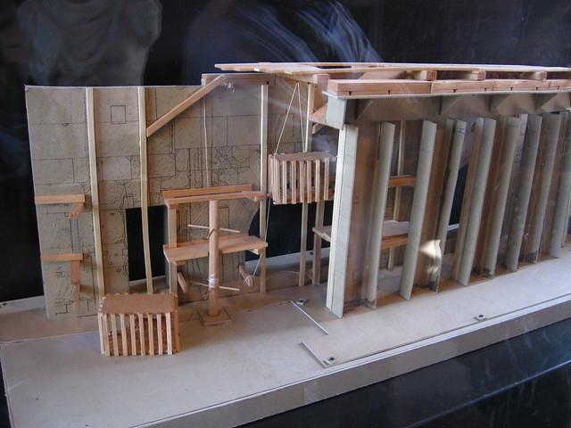 コロッセオの模型のフリー写真素材