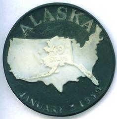 1959 Alaska Statehood medal