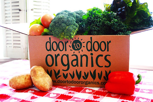 organic food box