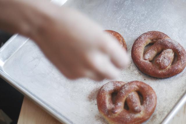 5434761818 24e1ea588c z Cinnamon Sugar Pretzels Recipe
