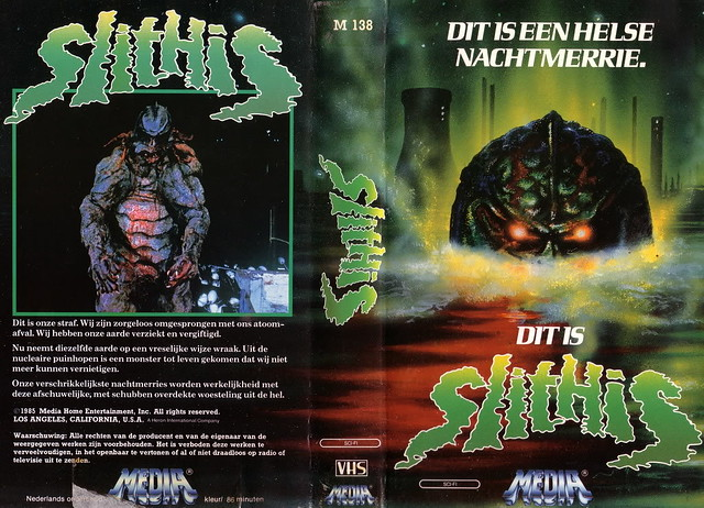Slithis (VHS Box Art)