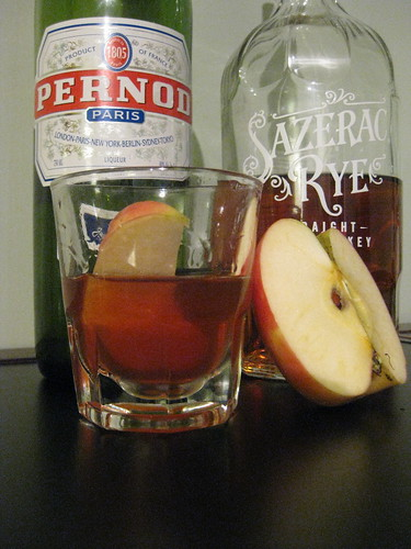 Apple Sazerac Cocktail