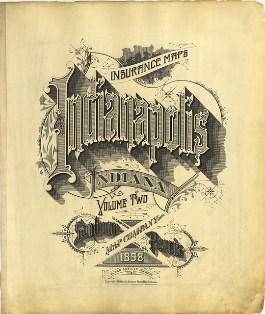 Indianapolis, Indiana 1898