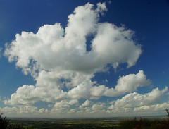 Cloud Gazing. (algo) Tags: blue england sky white clouds landscape grey view chilterns buckinghamshire algo aylesburyvale thechilternhills
